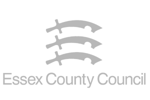 Essex County Council logo in grey