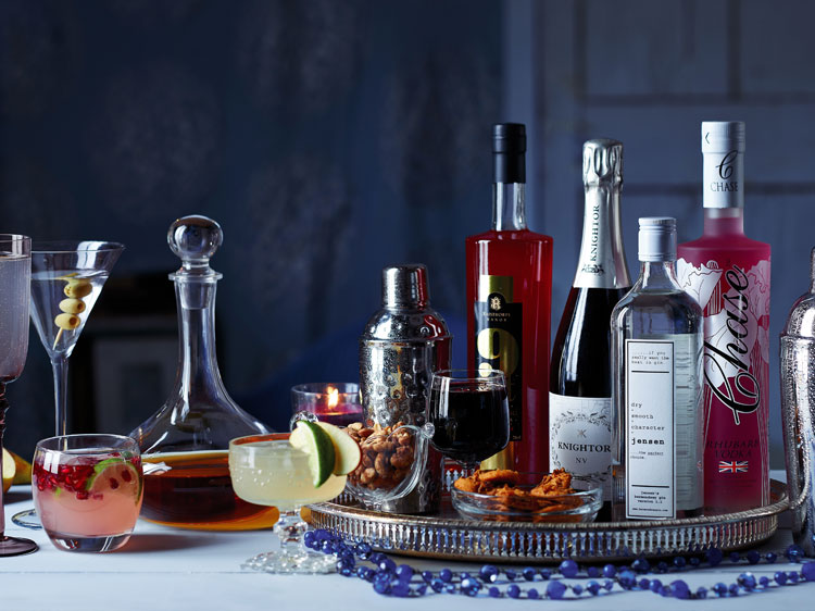 Great British Food magazine cocktail shoot