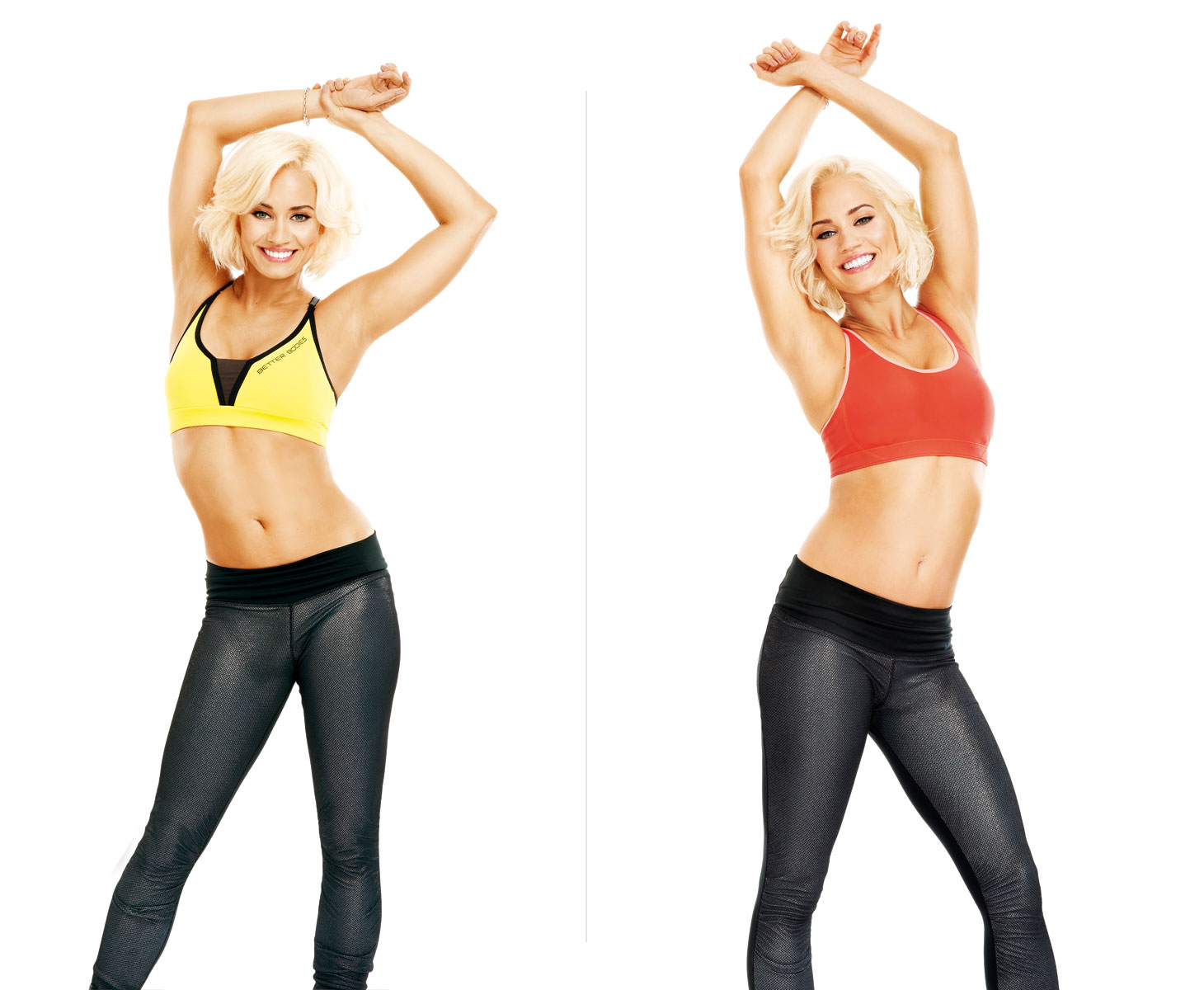 Kimberly Wyatt shot for Your Fitness
