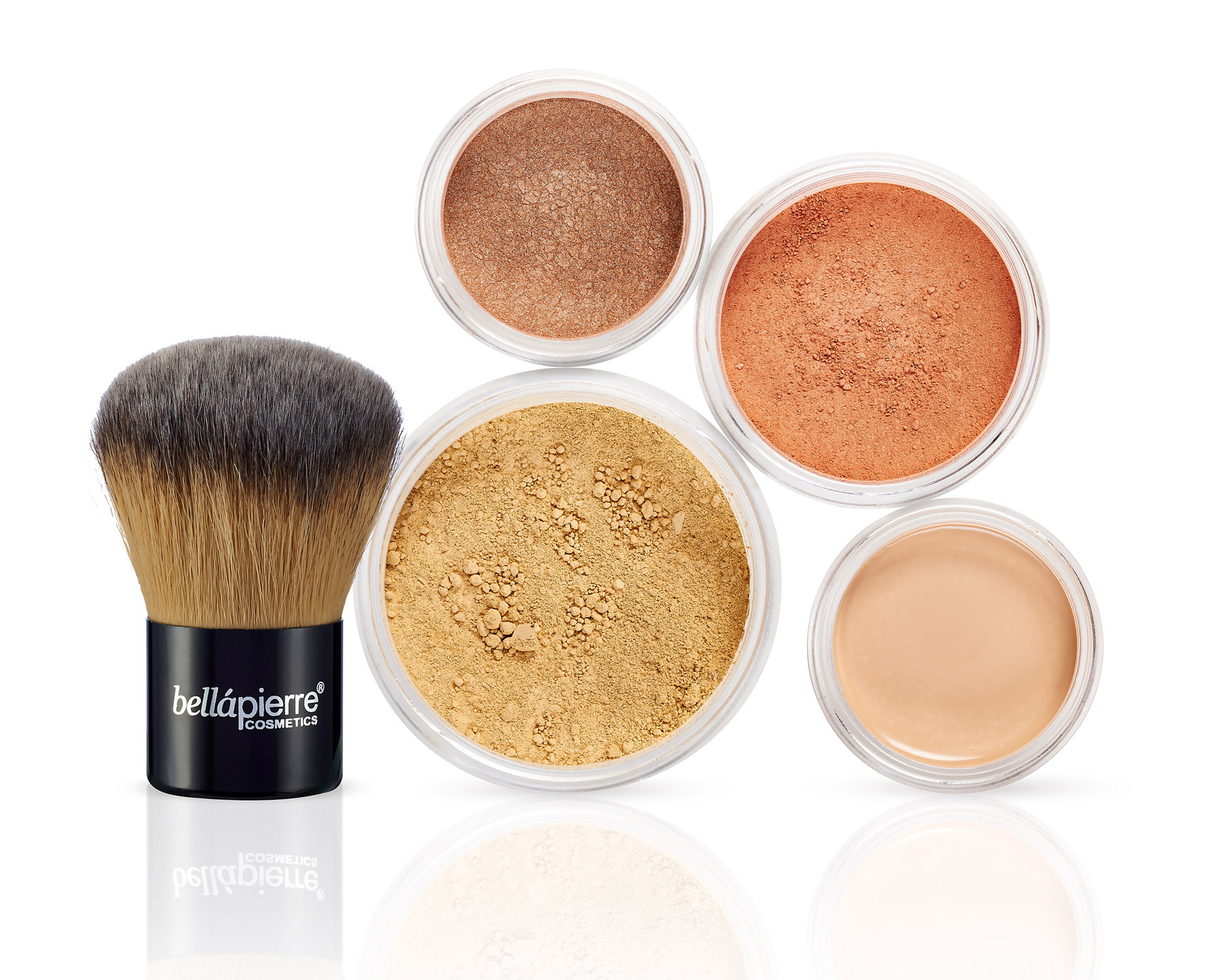 Bellapierre powder product shot on a white background