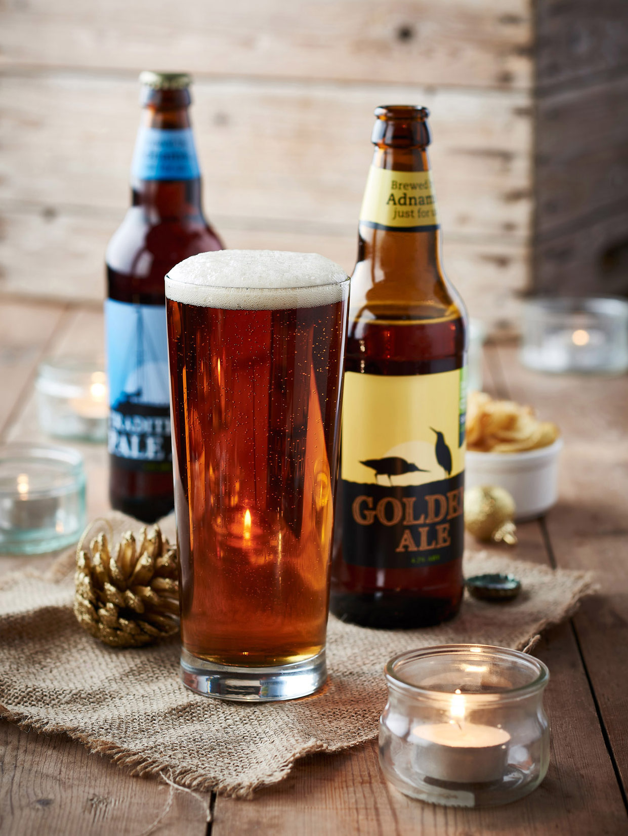 Adnams Golden Ale brewed for the Co-op