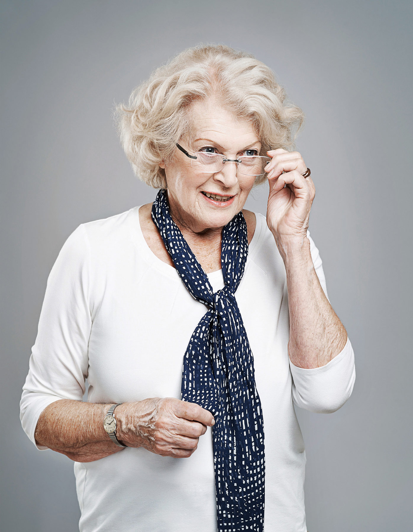 Portrait of an elderly lady for Hallmark Care Homes