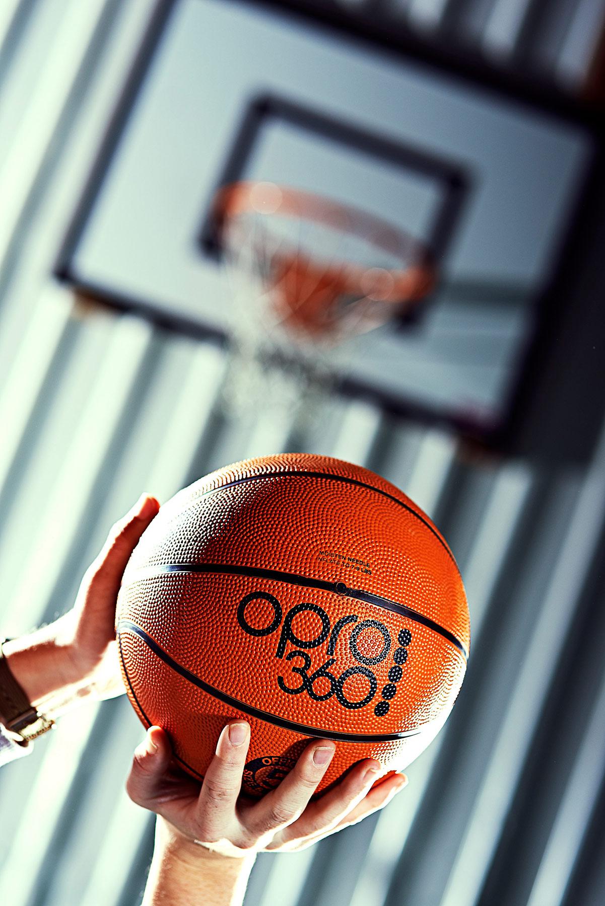 OPRO 360 basket ball
