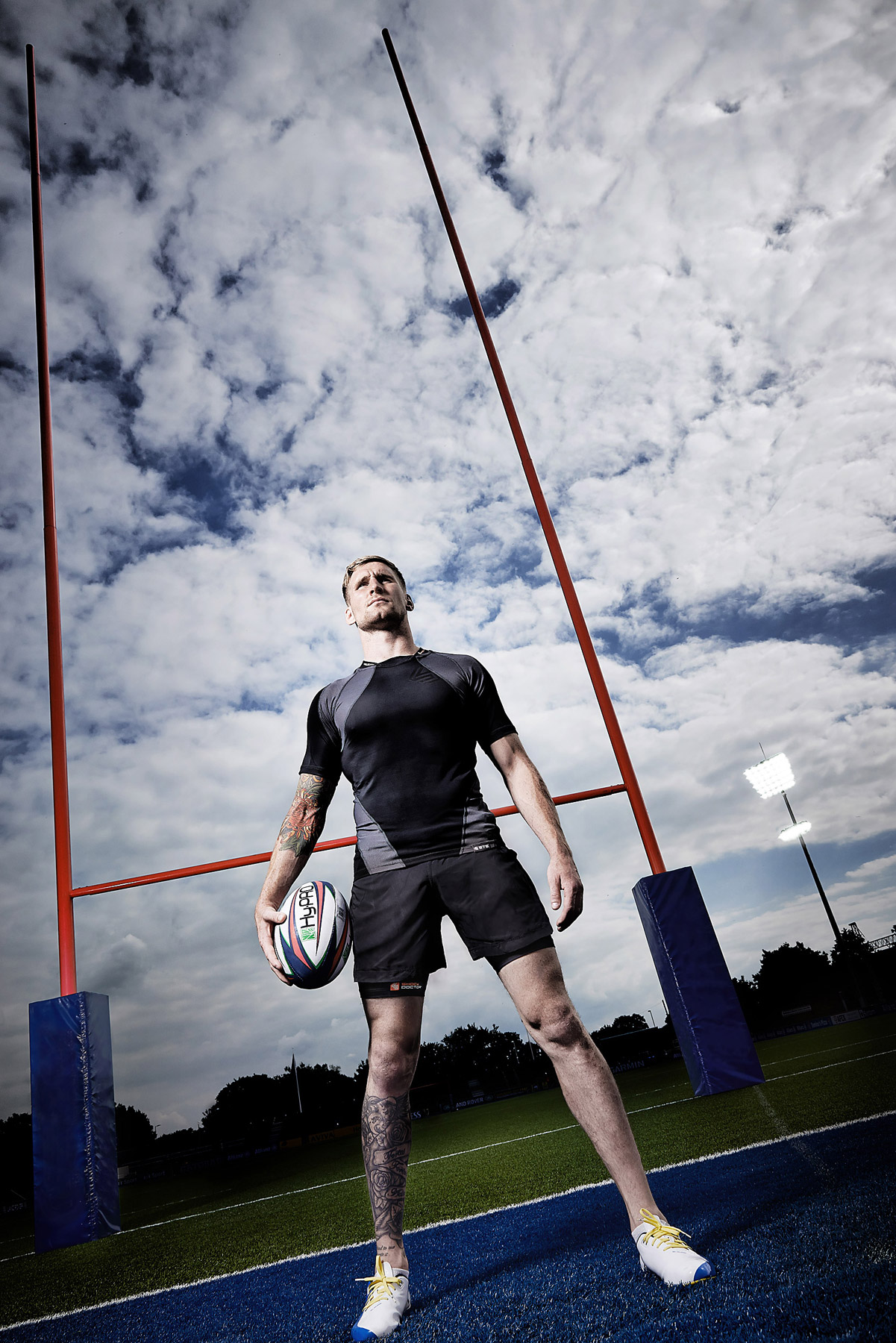 Rugby League International player Sam Tomkins