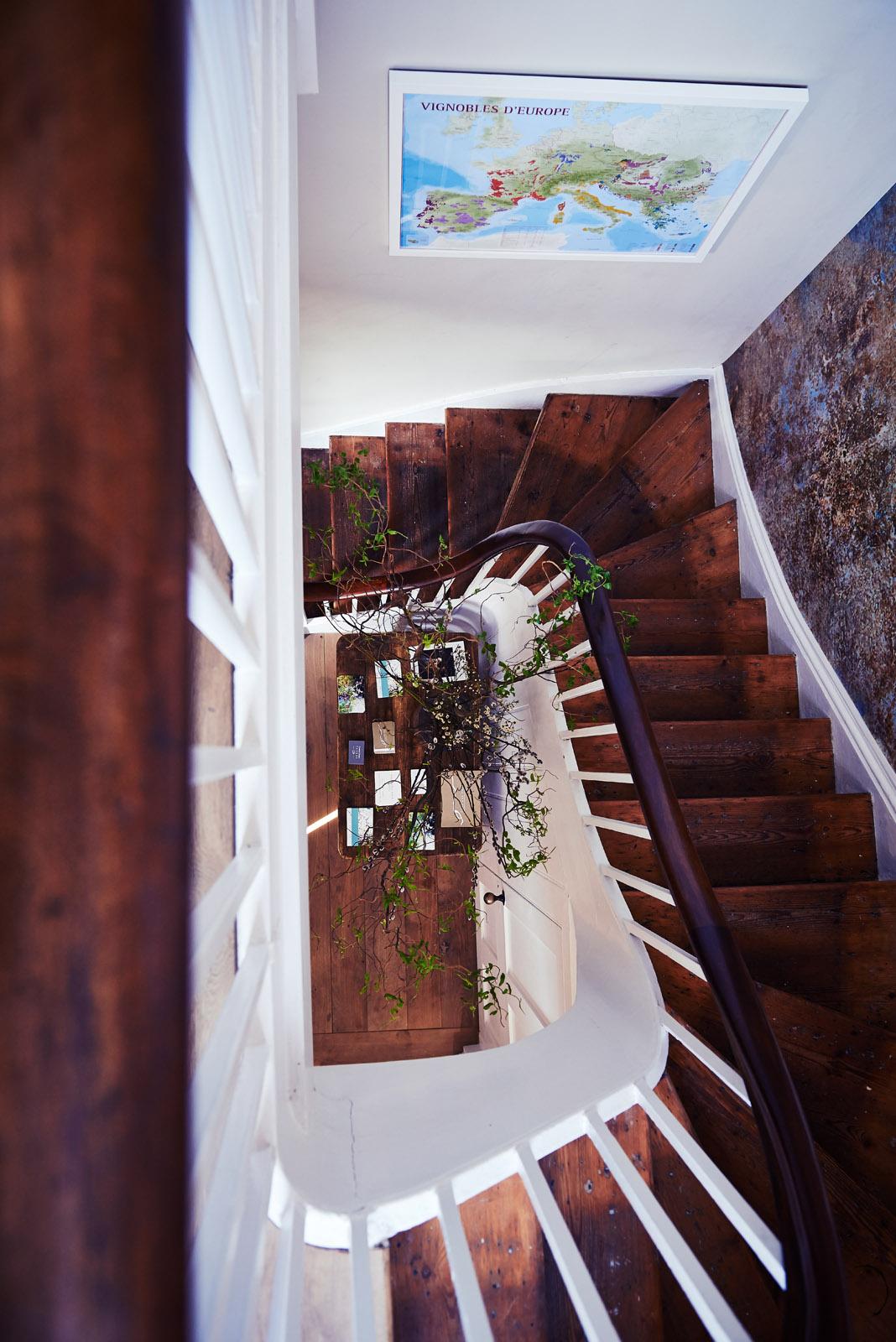 Church Street Tavern stairwell