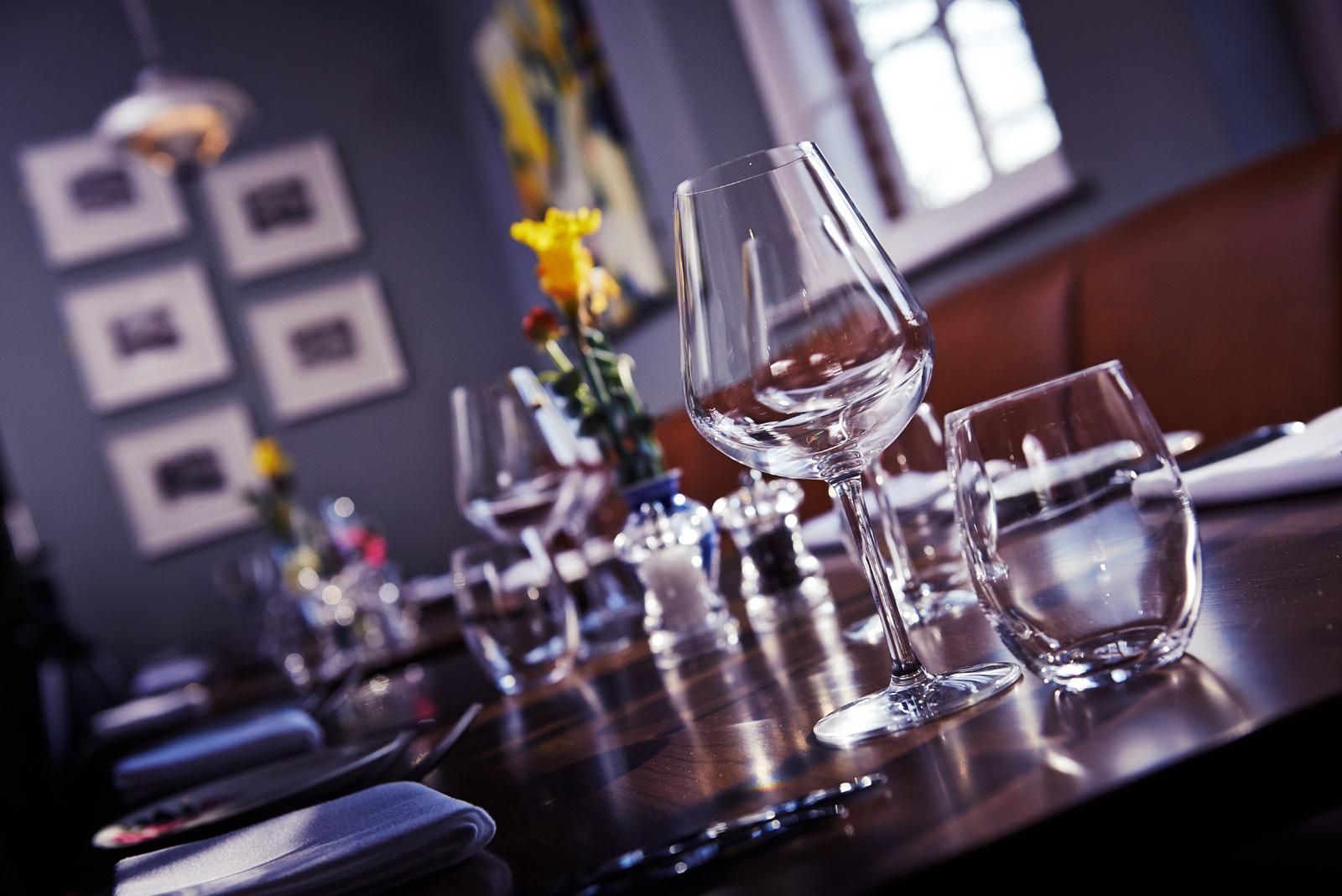 Church Street Tavern table setting
