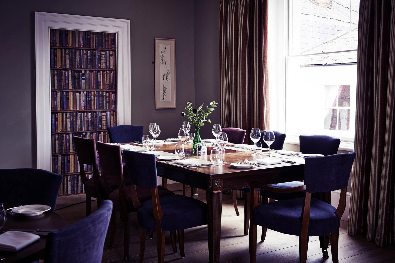 Church Street Tavern dining