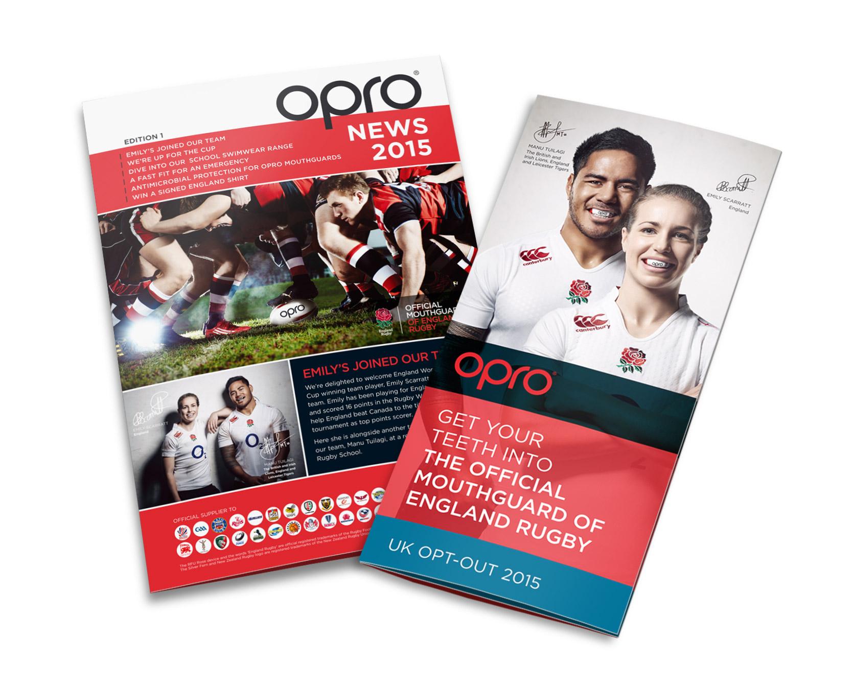 OPRO leaflets