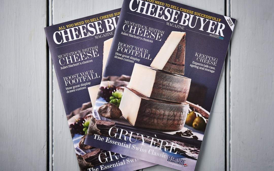 Gruyère cover shot for Cheese Buyer