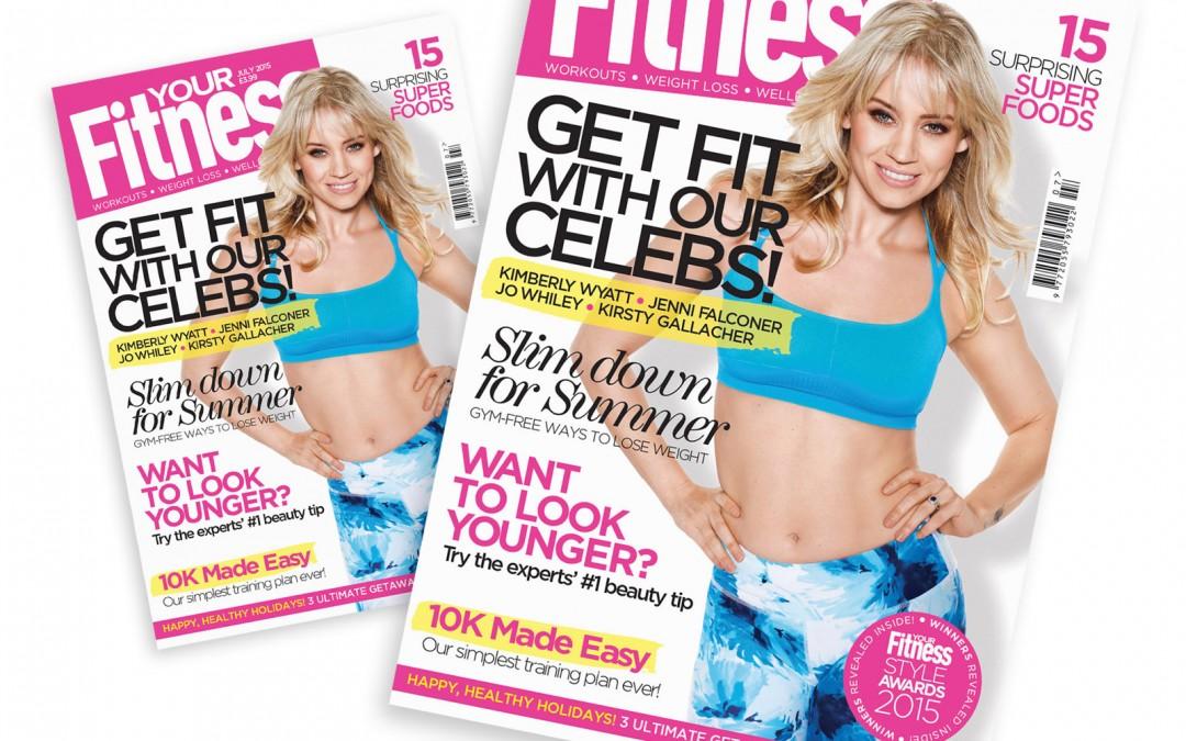 Kimberly Wyatt covershoot for Your Fitness