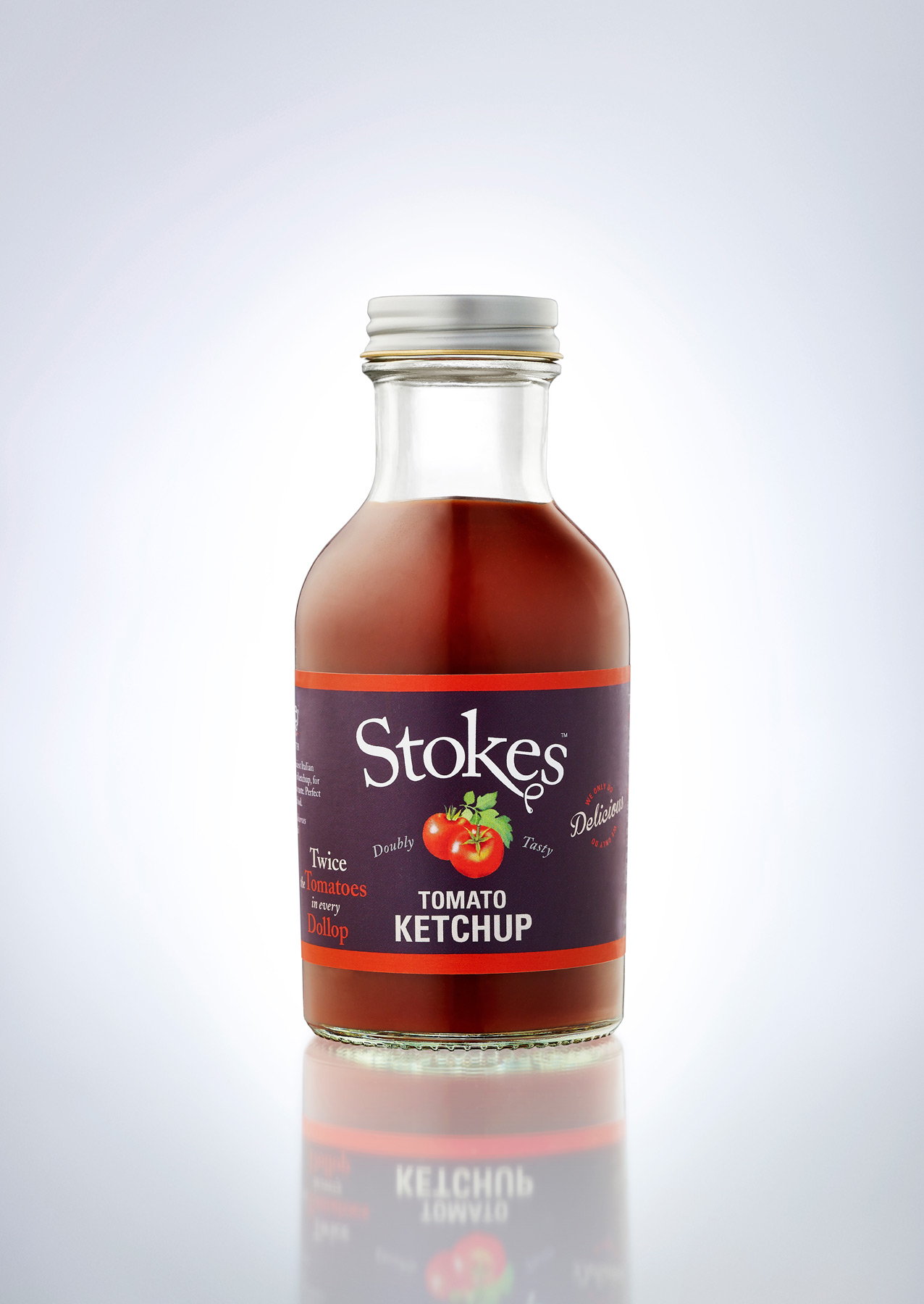 Stokes Tomato Ketchup on white