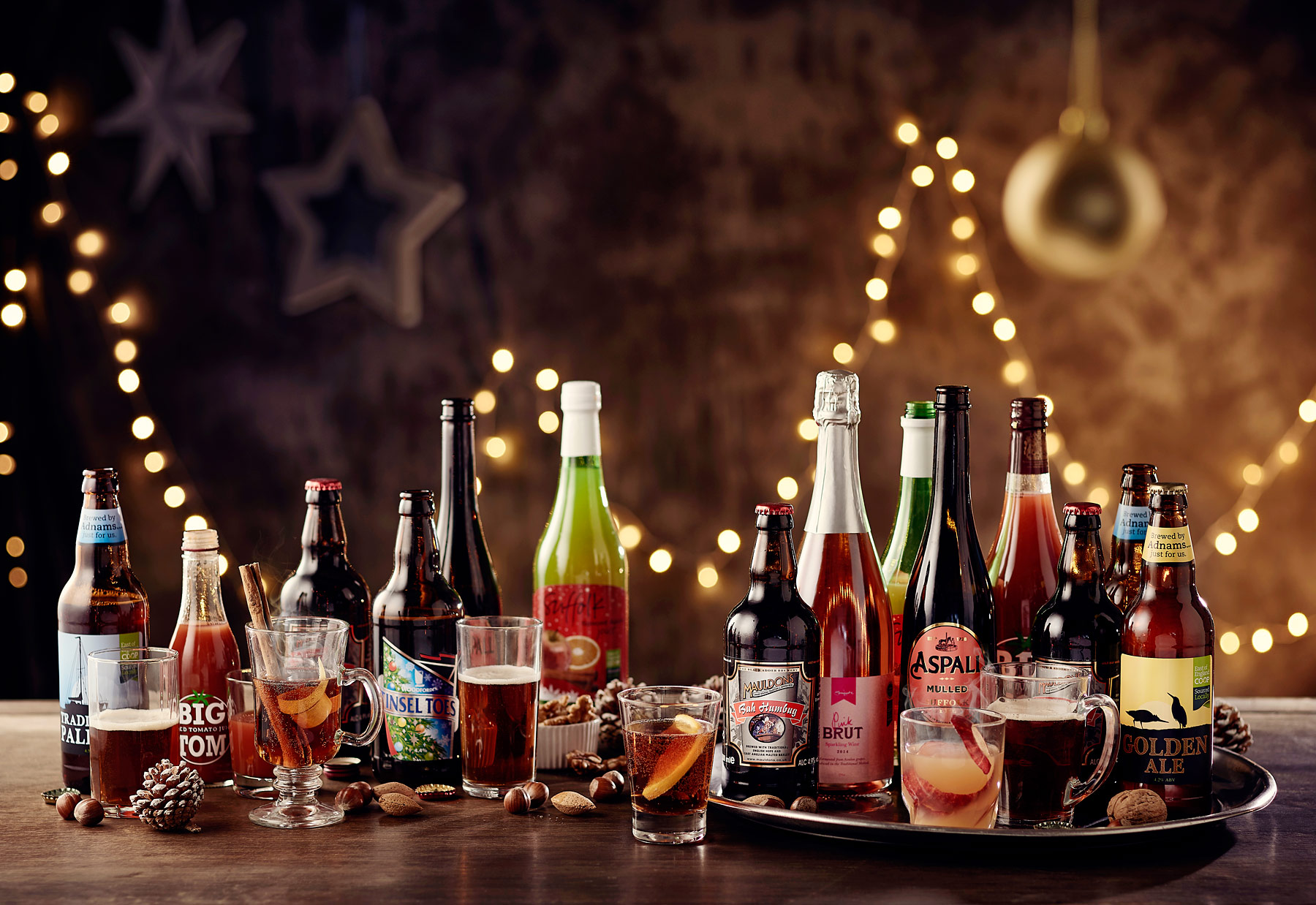 East of England Co-op festive drinks