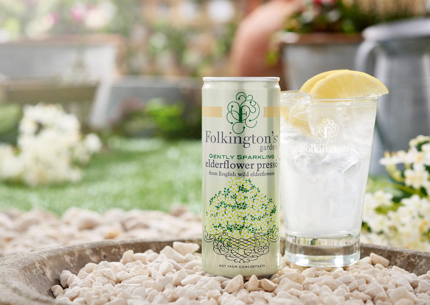 Folkingtons Garden Range Elderflower Pressé