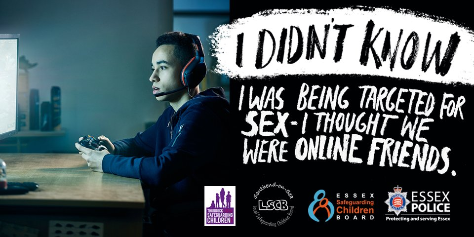 Essex Police CSE campaign banner 2