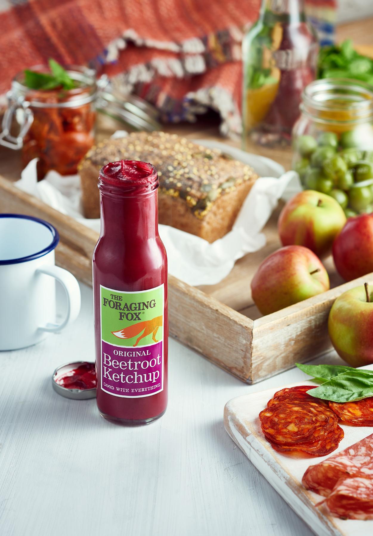 Beetroot Ketchup picnic