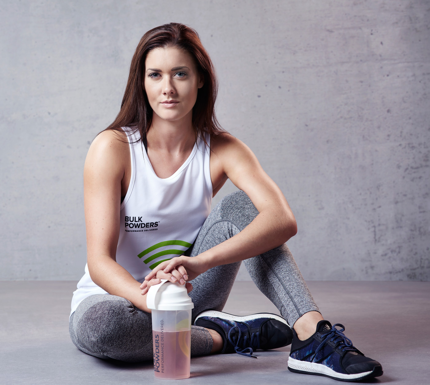 Female athlete posing for Bulk Powders