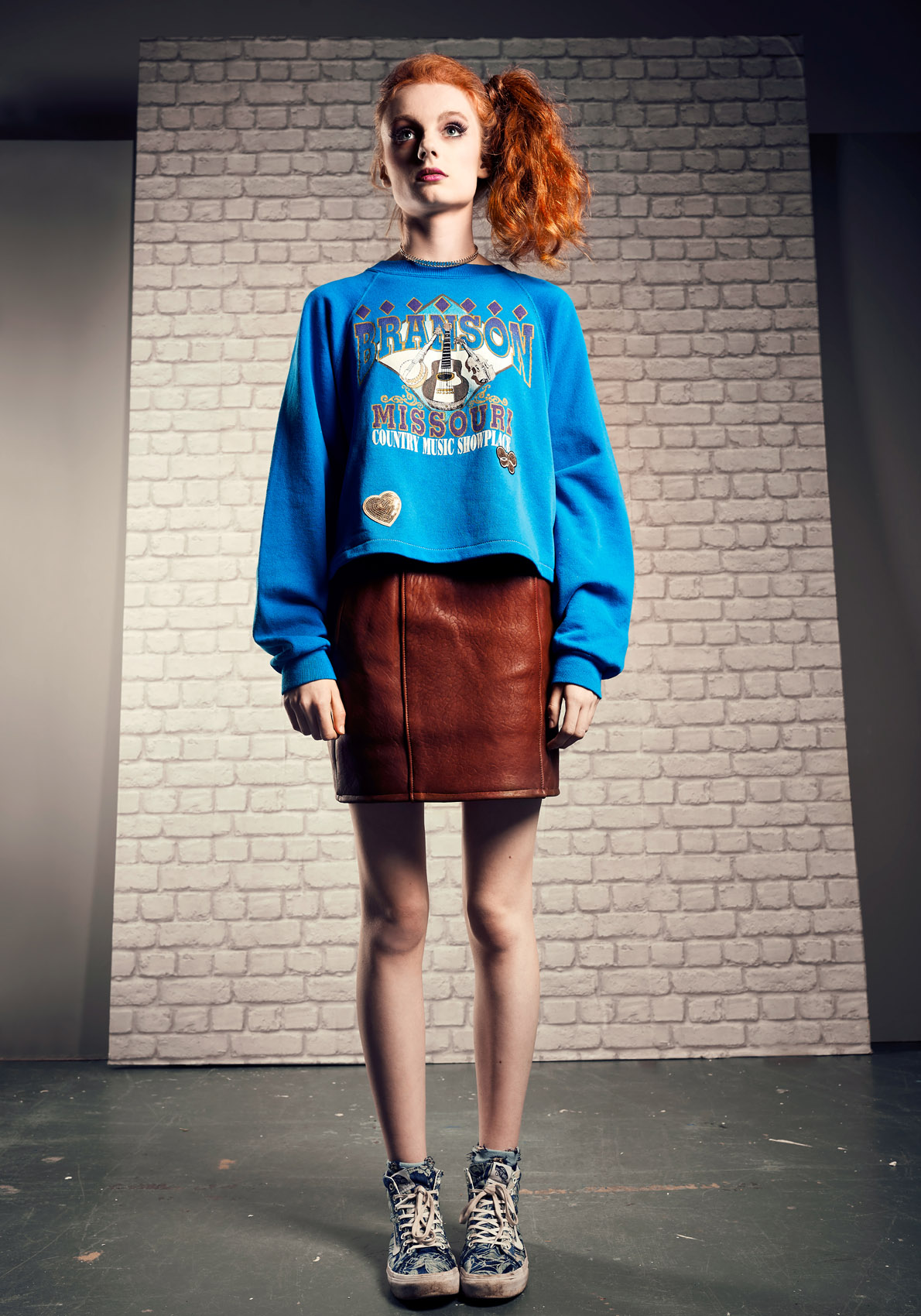 80s fashion shoot