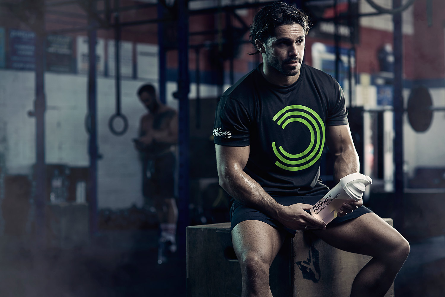 Recovering in a crossfit gym