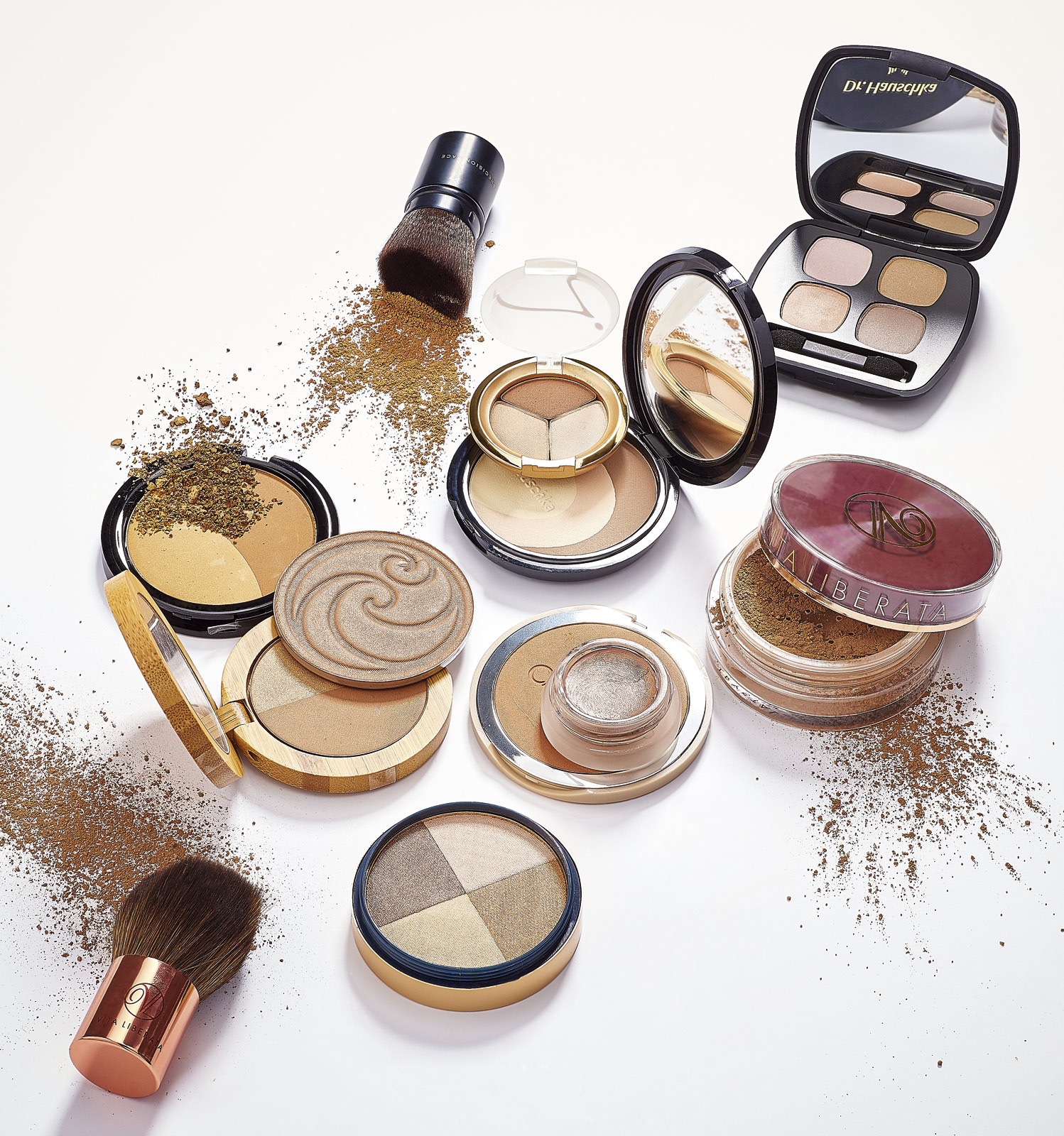 Make up product shot for Natural Health magazine