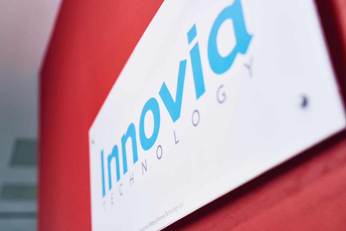 Innovia Technology signage