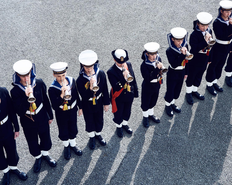 RHS military band