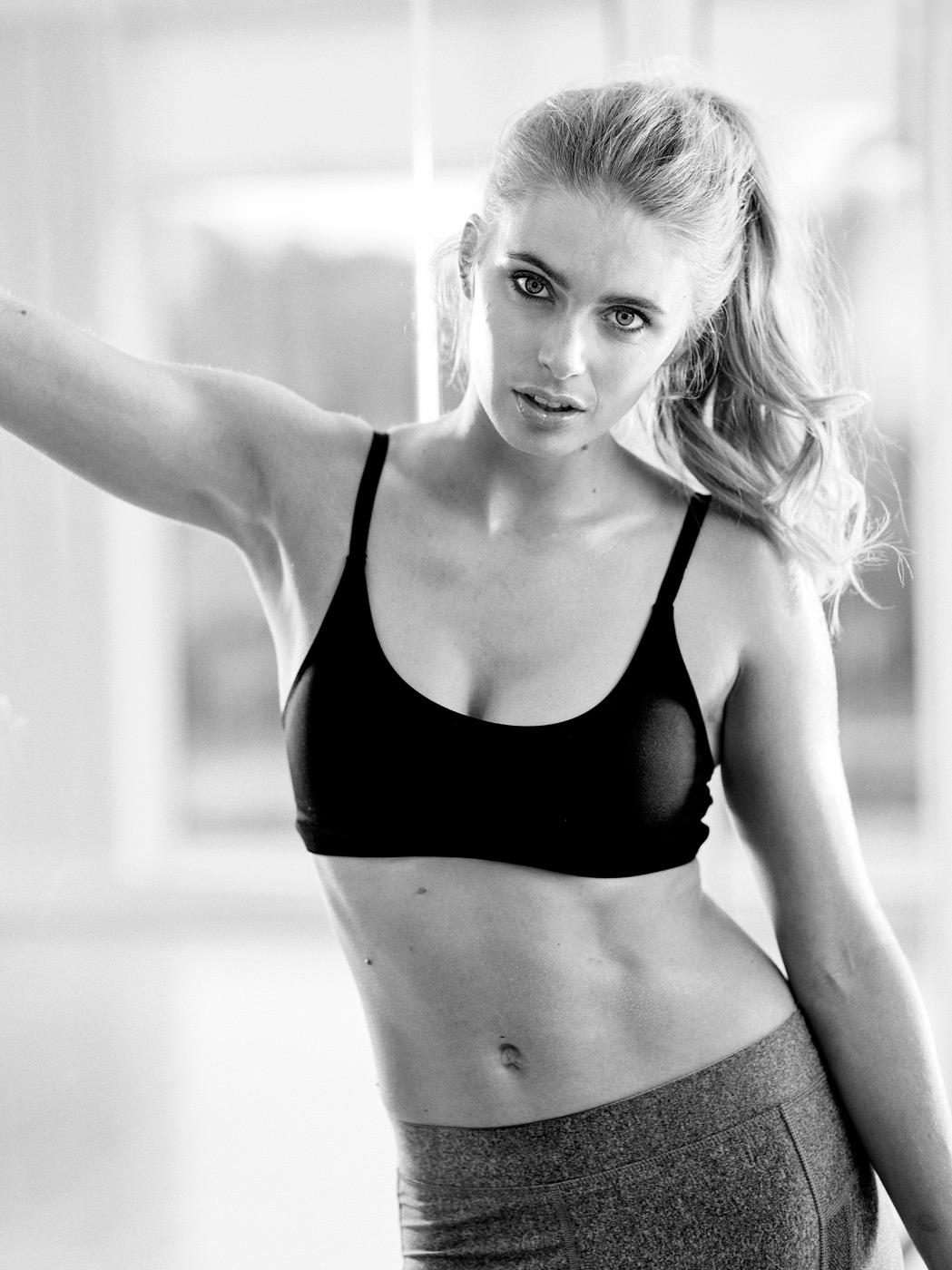 Women's fitness photoshoot