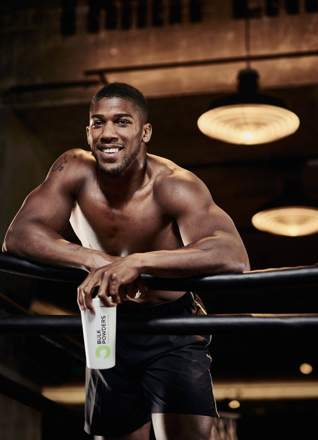 Anthony Joshua in the ring