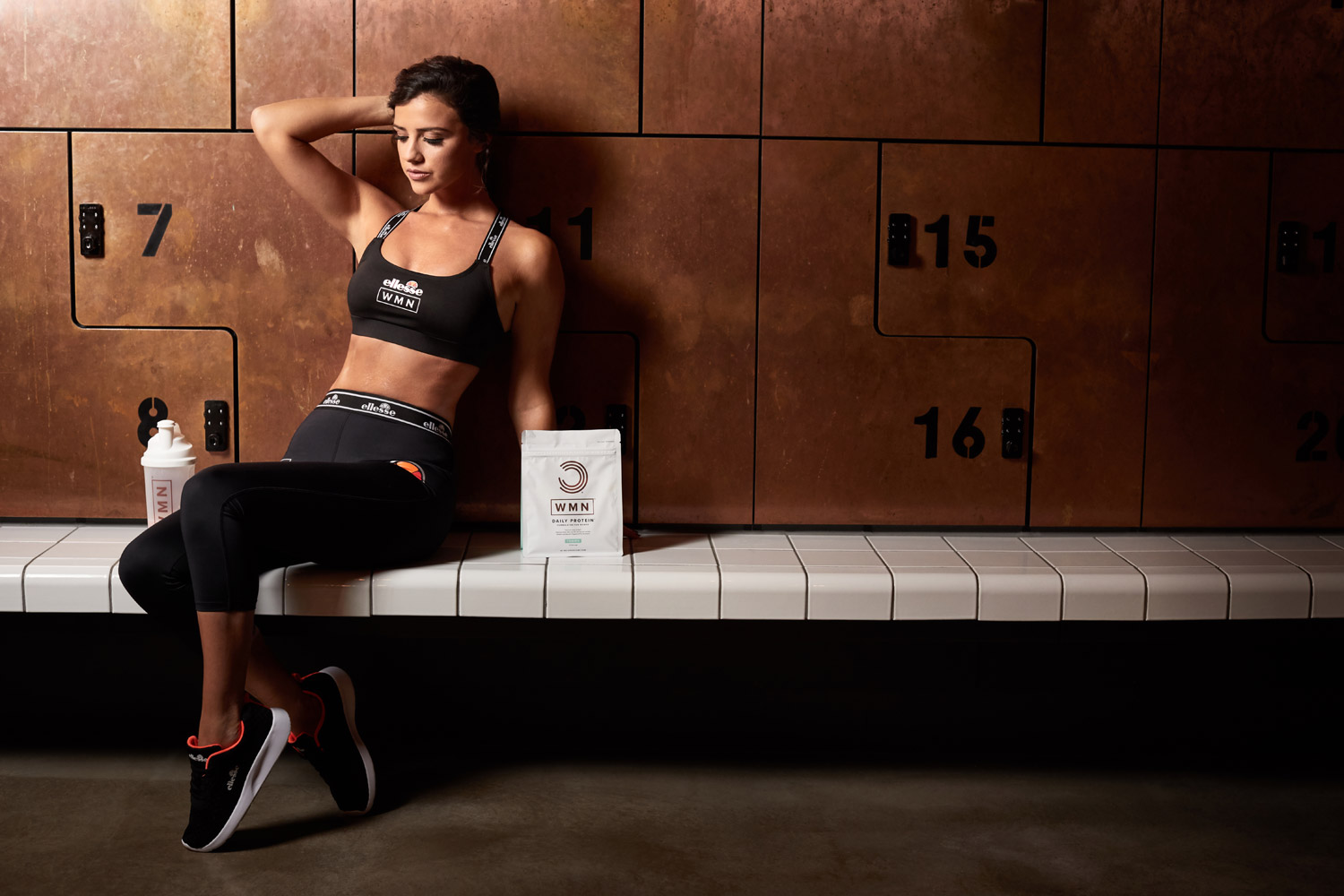 Lucy Mecklenburgh ambassador for WMN Health and Nutrition range.