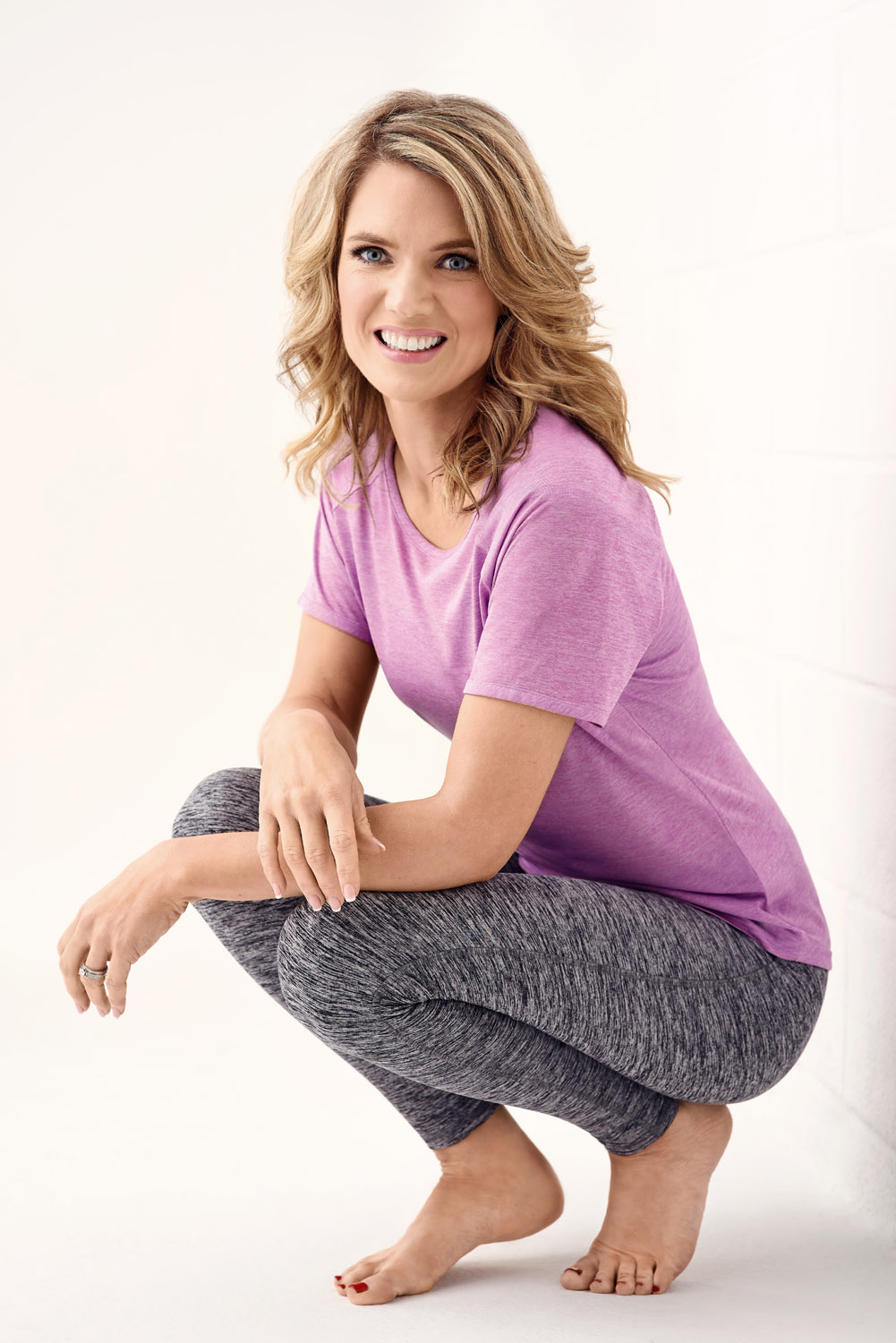 Charlotte Hawkins cover shoot