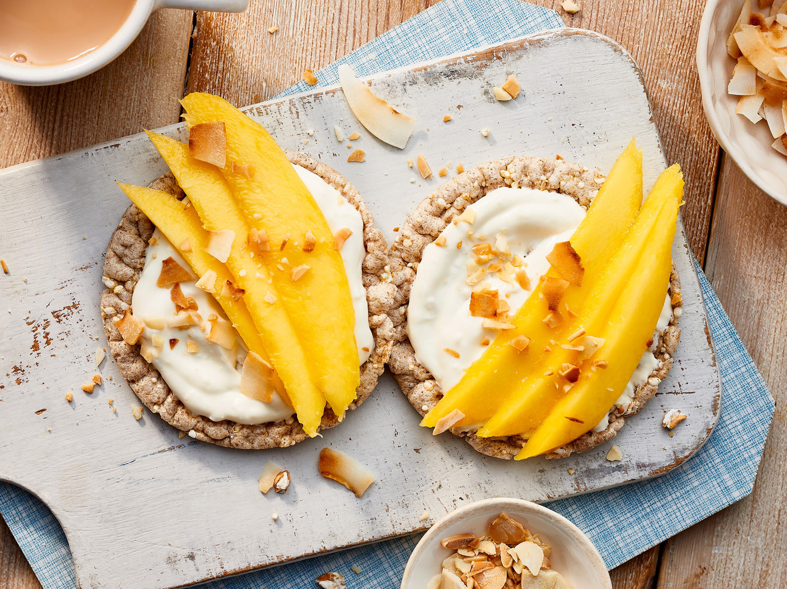 Coconut Yogurt & Mango with a Crunchy Sprinkle