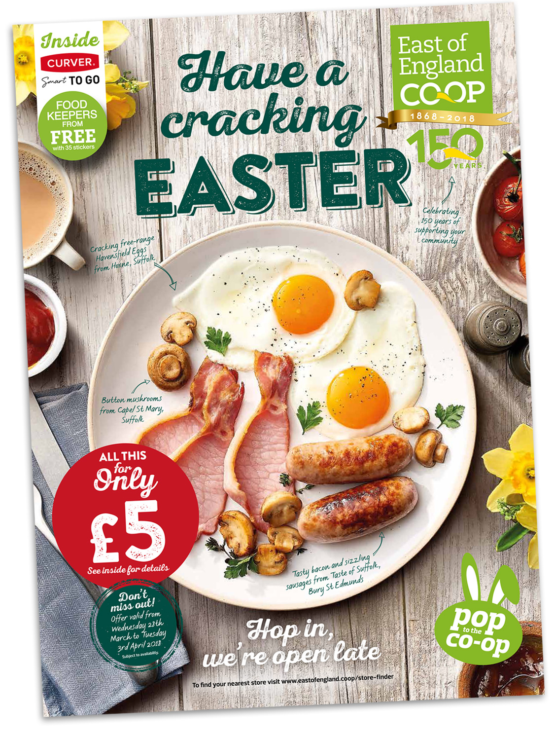 East of England Co-op Easter mailer