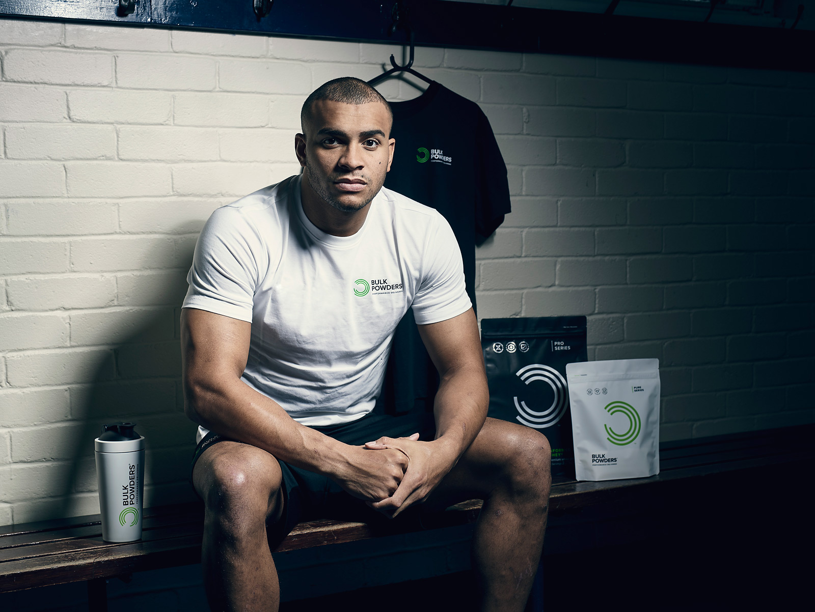England Rugby player Jonathan Joseph photographed for Bulk Powders by CliQQ Photography