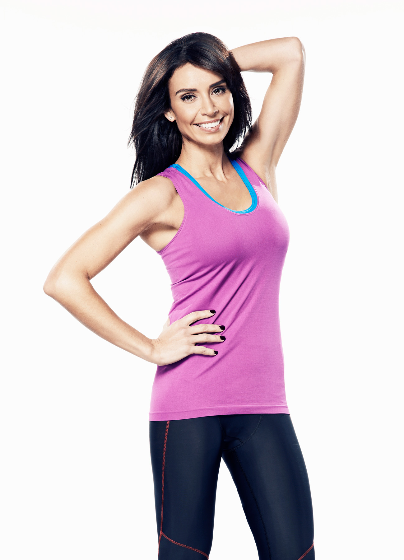 Christine Bleakley cover shoot