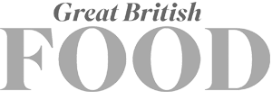 Great British Food magazine logo in grey
