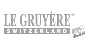 Gruyère logo in grey