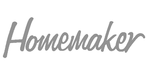 Homemaker Magazine logo grey