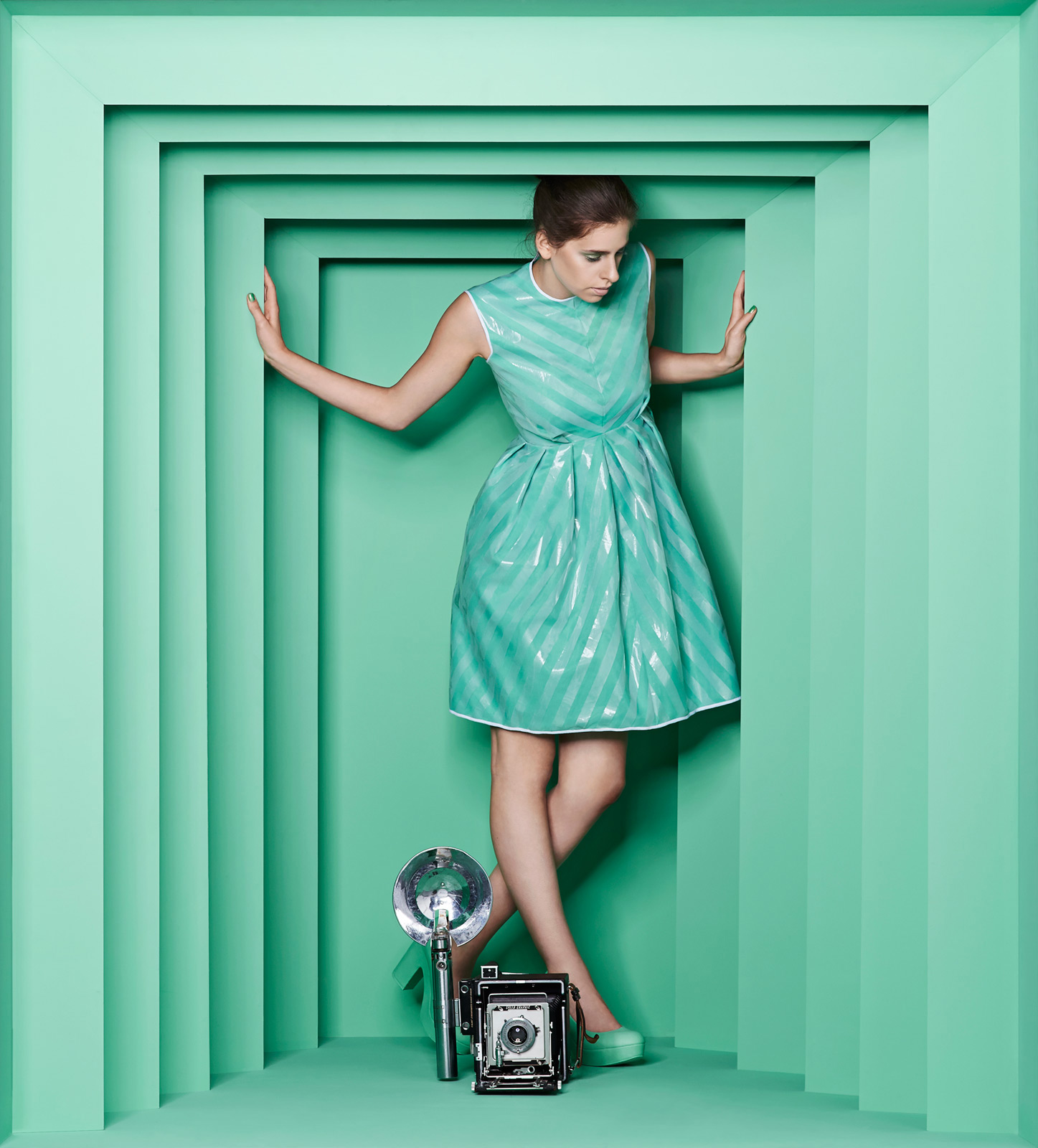 Green Verditer set from our Moments of Colour campagain for Little Greene