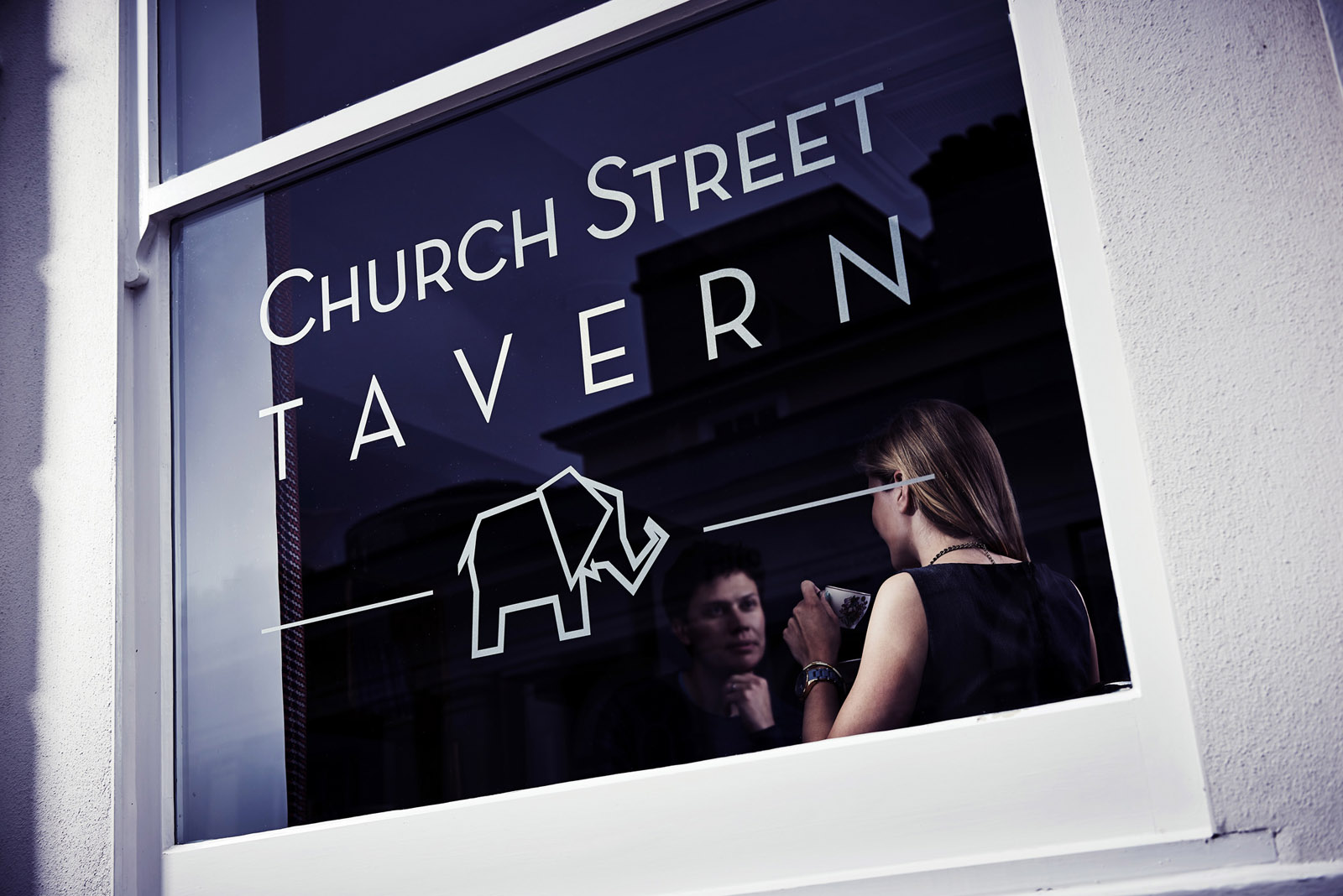 Church Street Tavern window