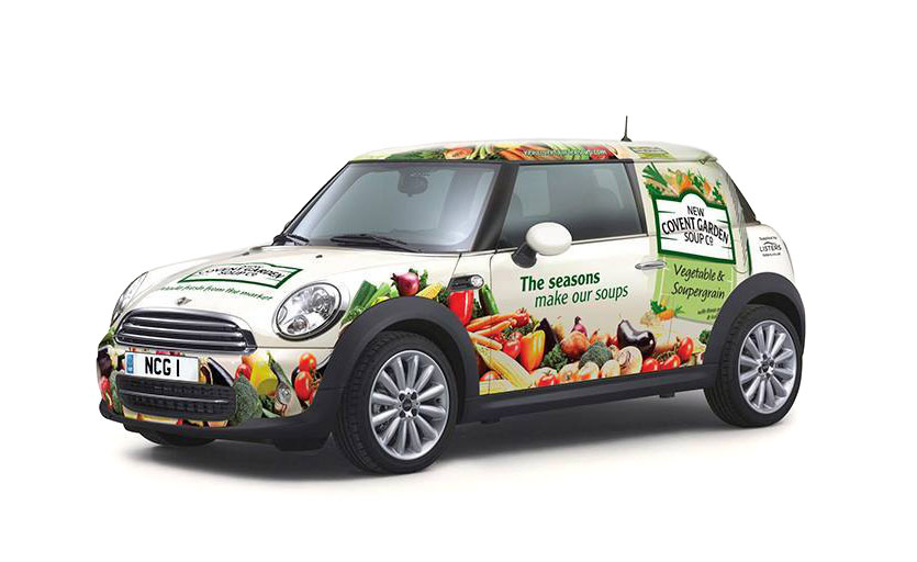 New Covent Garden Soup Co promotional mini
