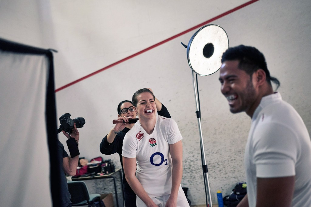 Behind the scenes with Manu Tuilagi and Emily Scarratt