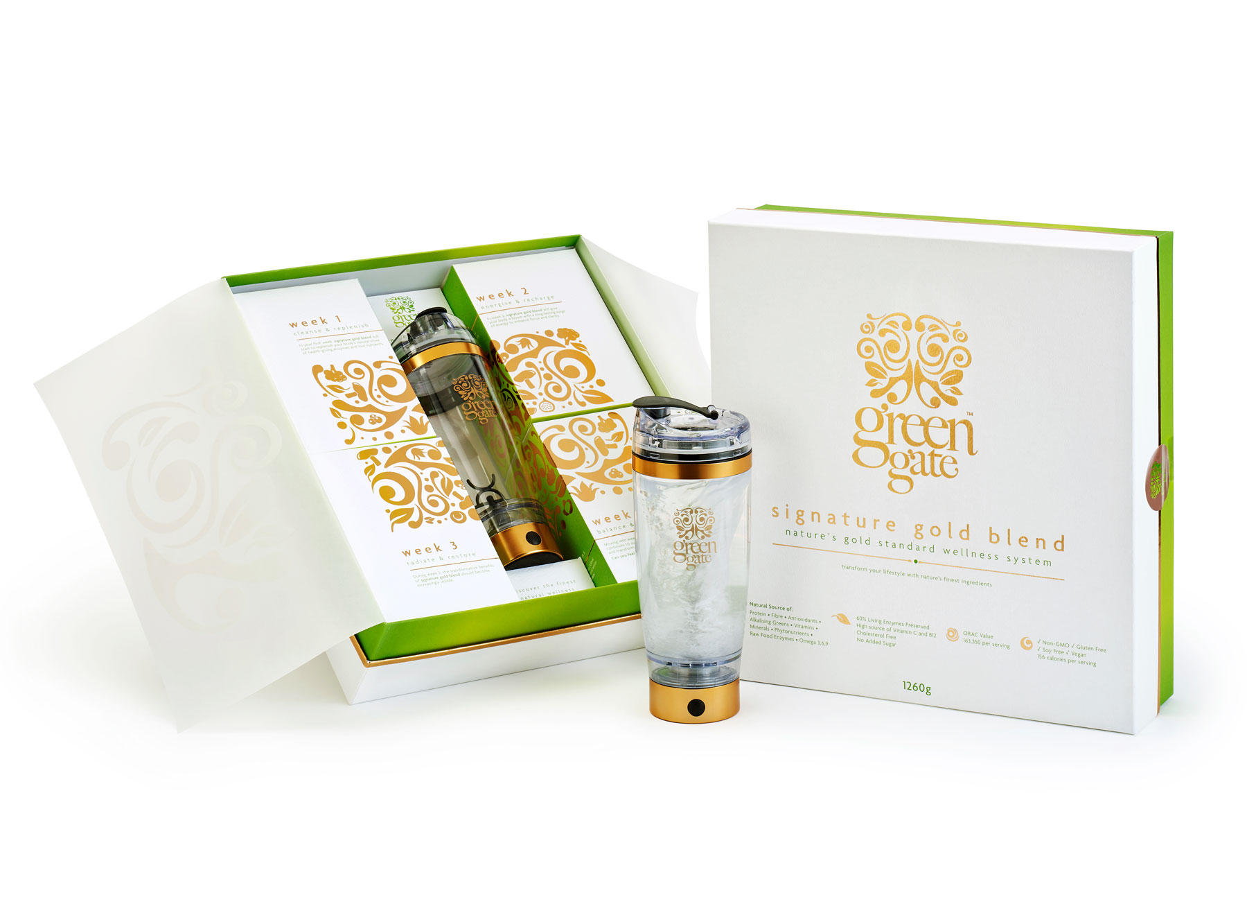 Green Gate Signature Gold Blend box