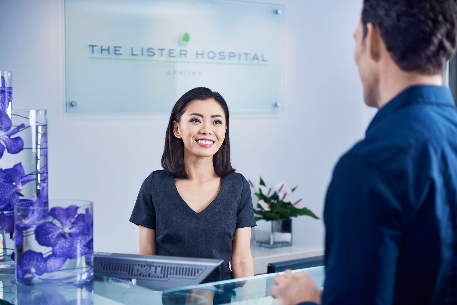 The ListerThe Lister Hospital reception close up
