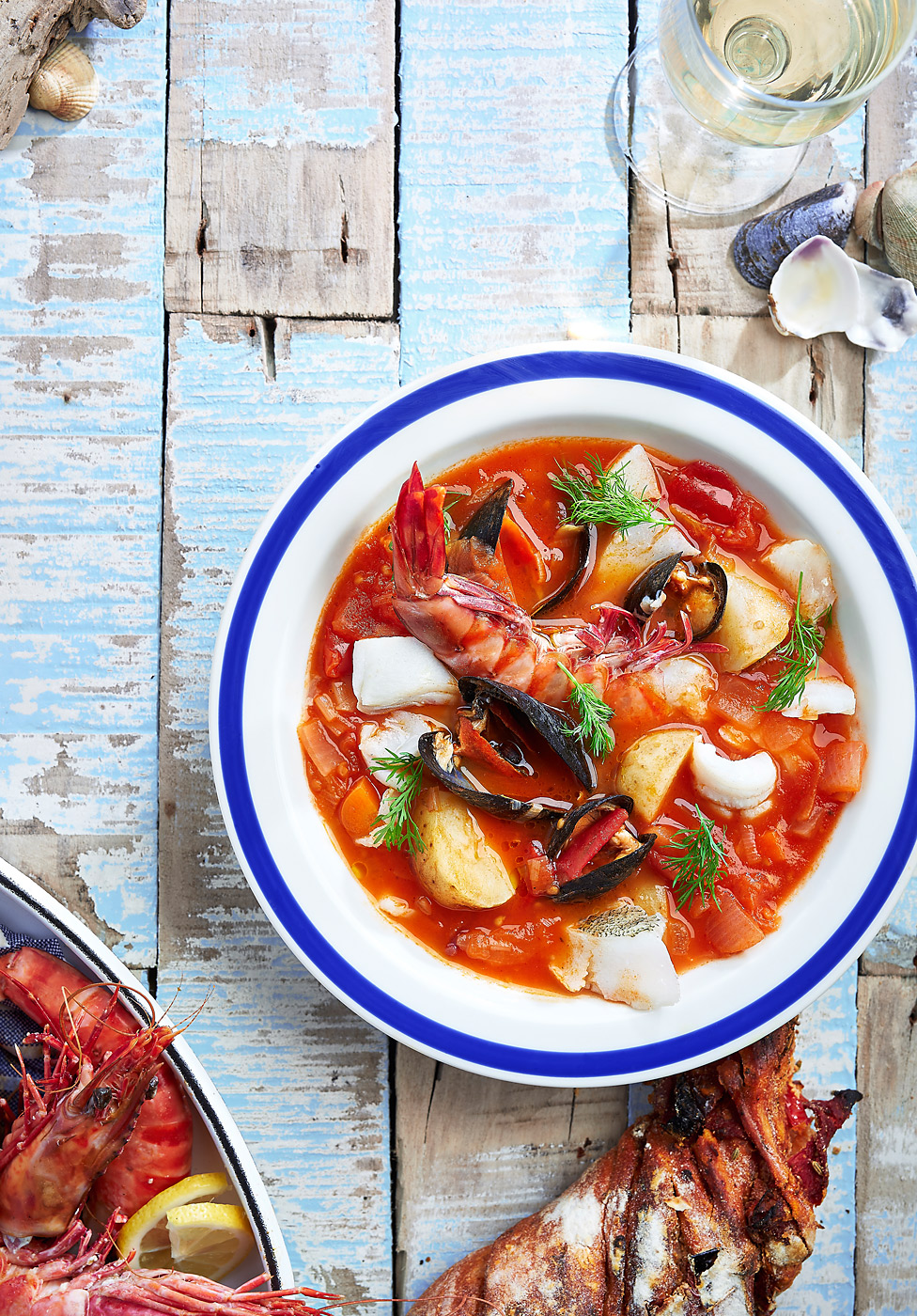 Seafood stew by CliQQ Photography