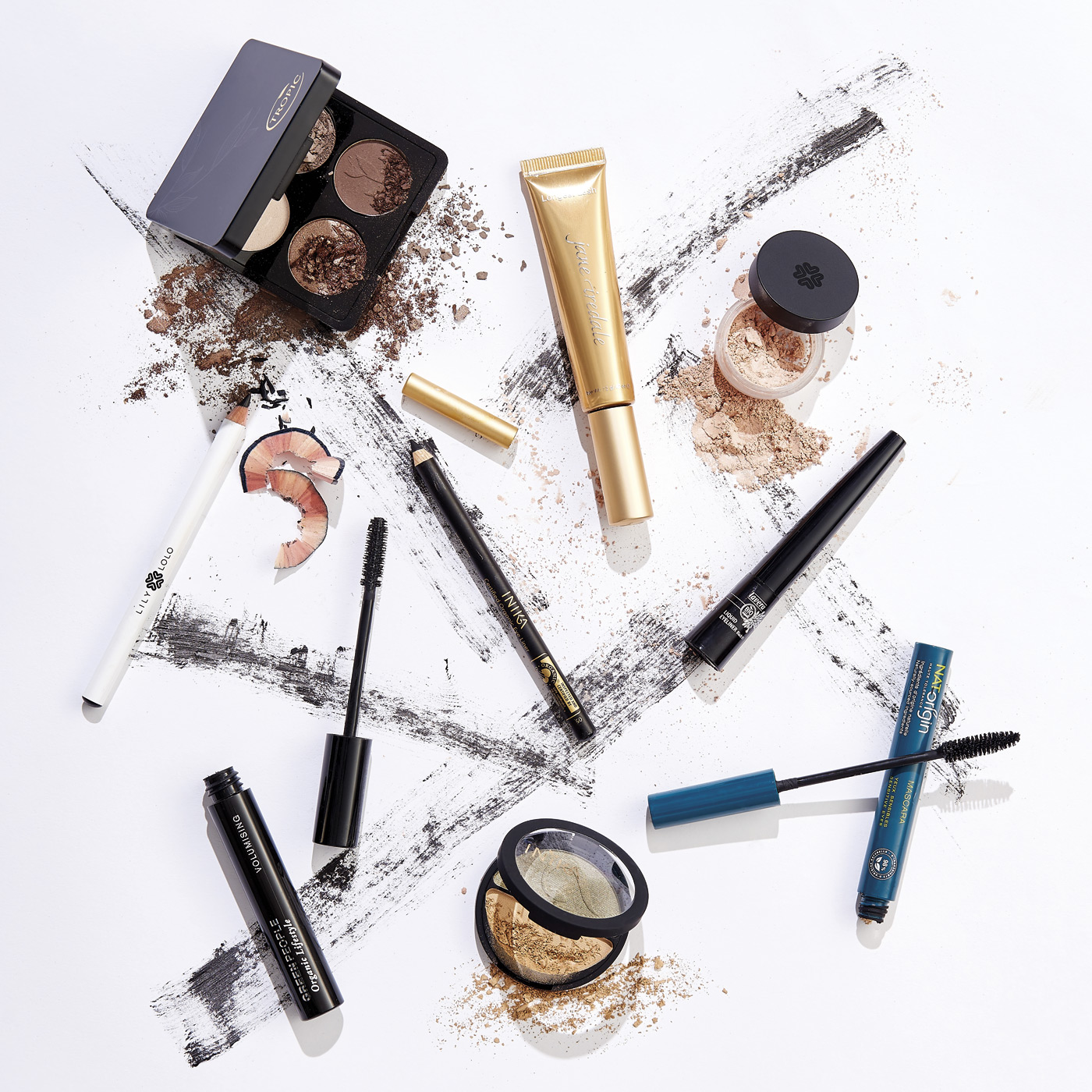 Makeup product photography
