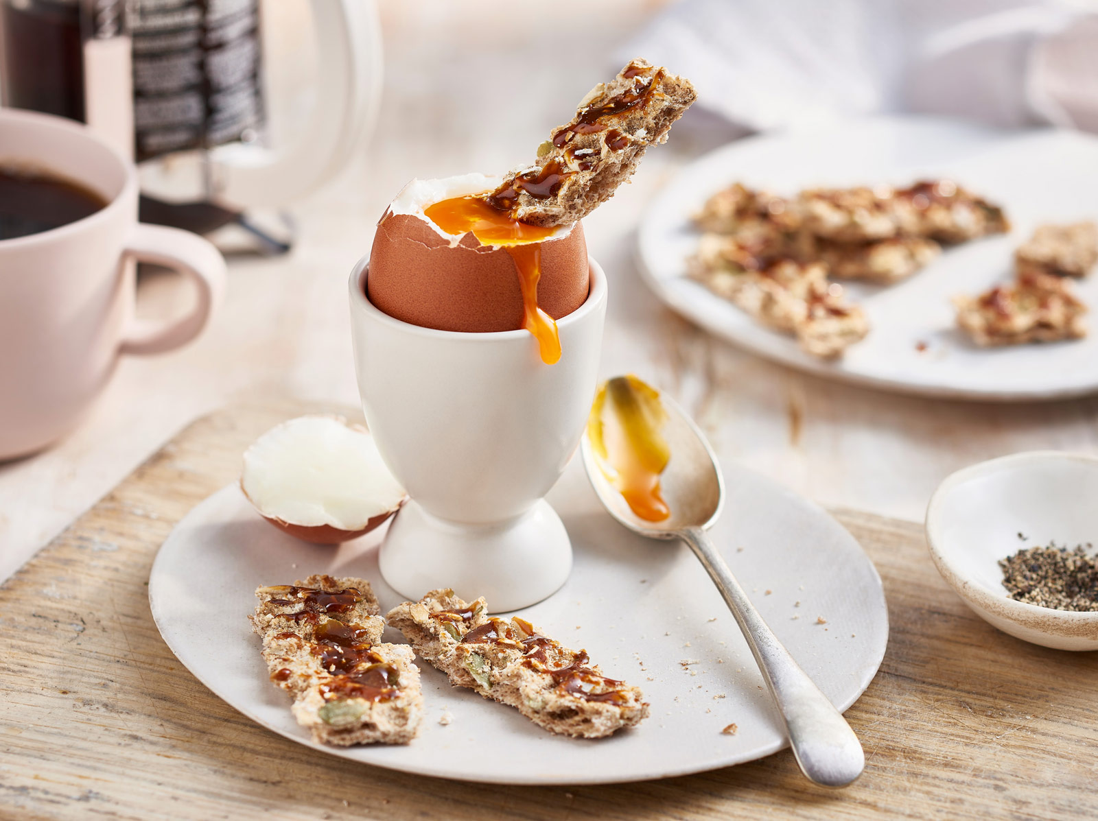 Dippy Egg and Marmite Soldiers