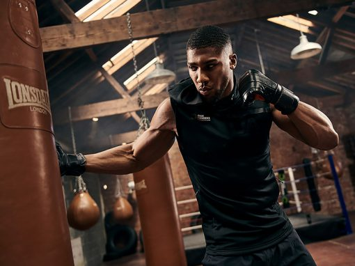 Anthony Joshua at Blok