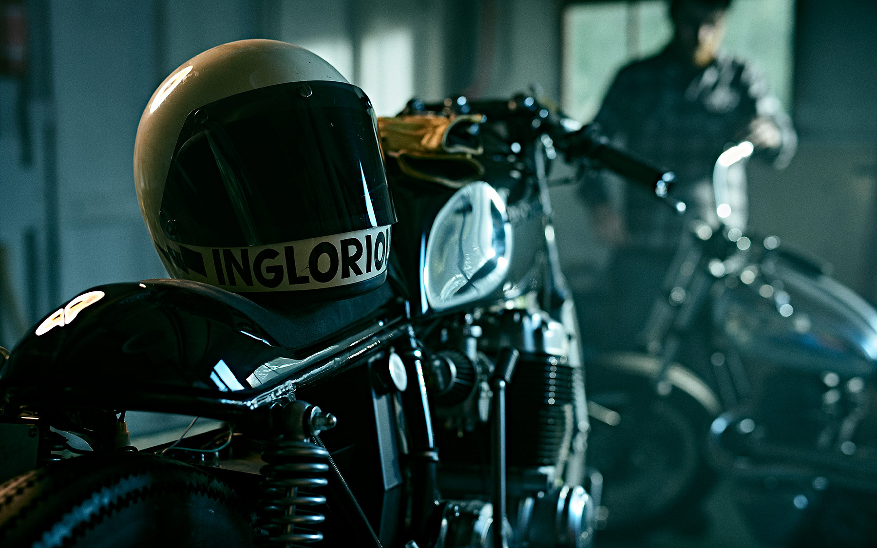 Inside the Inglorious Motorcycles workshop