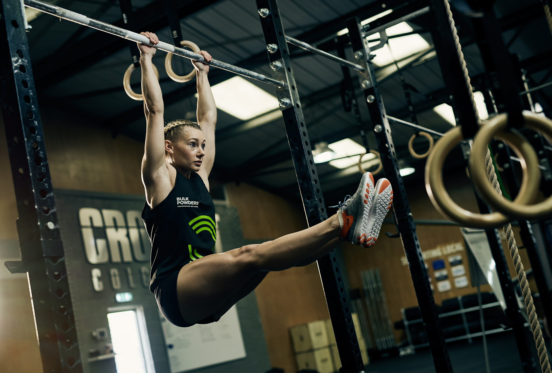 Emma Paveley at Crossfit