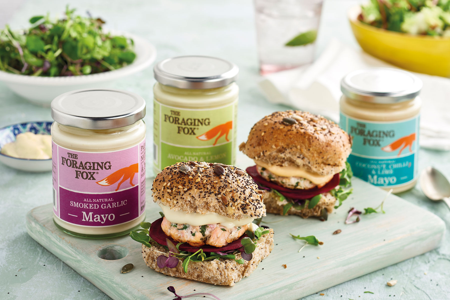 Foraging Fox Mayo range