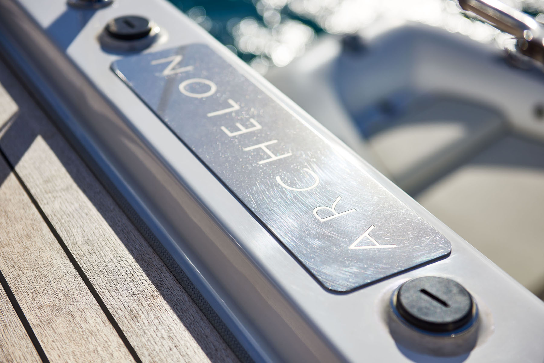 Boat detail shot